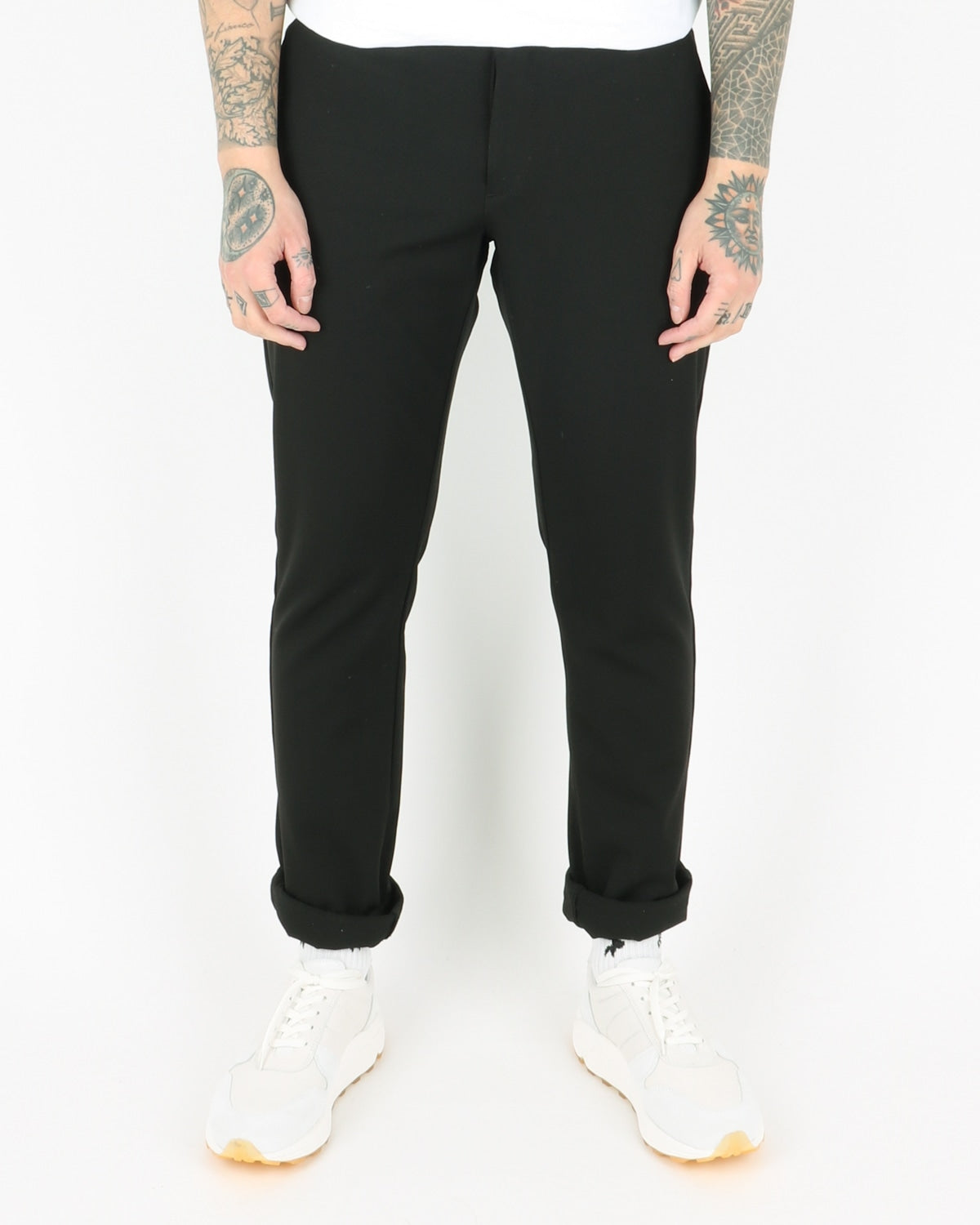woodbird_steffen twill pants_black_view_1_3