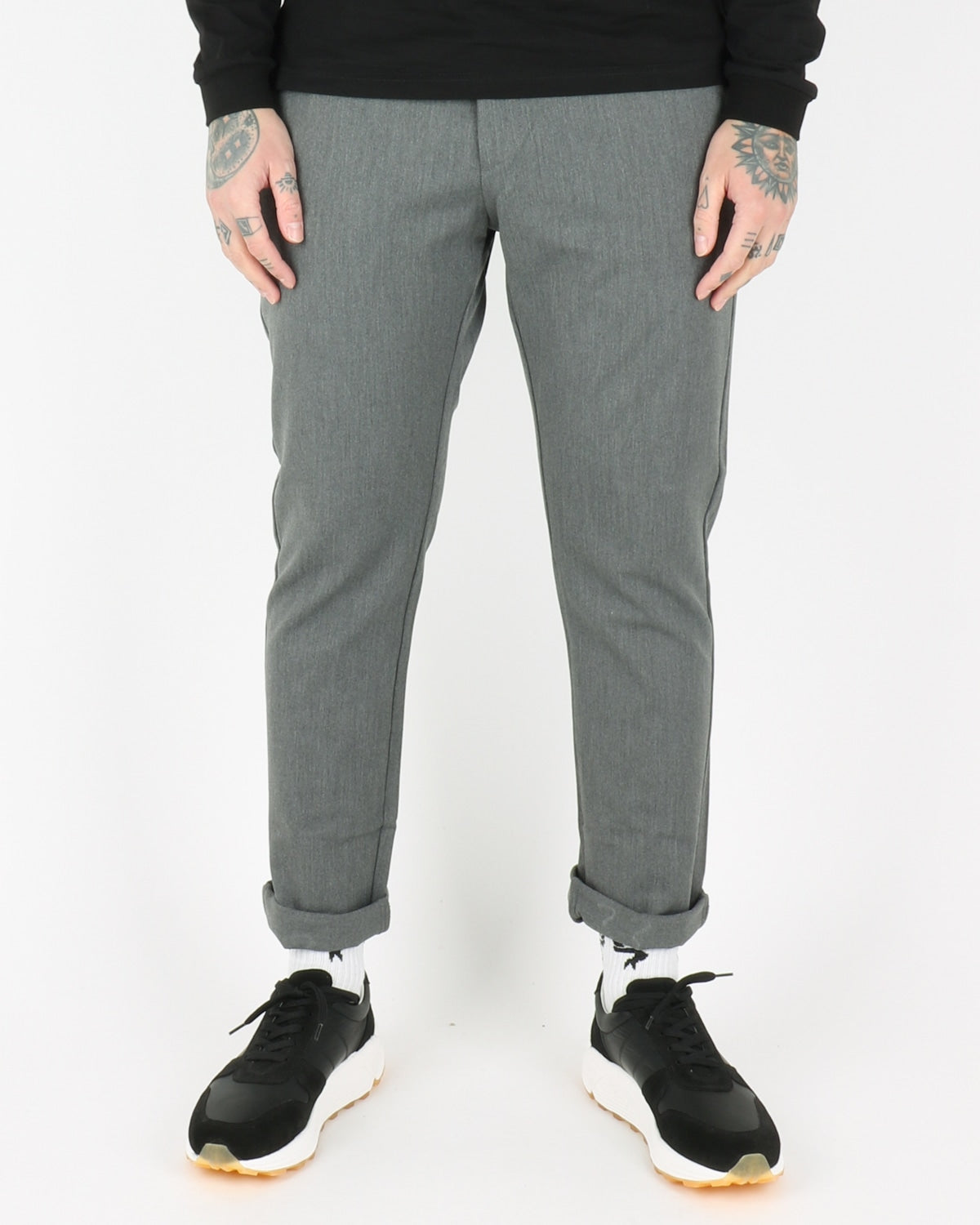 woodbird_steffen twill pants_light grey_1_2