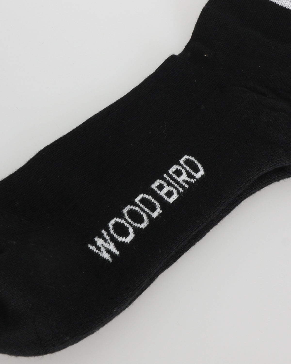 woodbird_tennis socks_black white_2_2