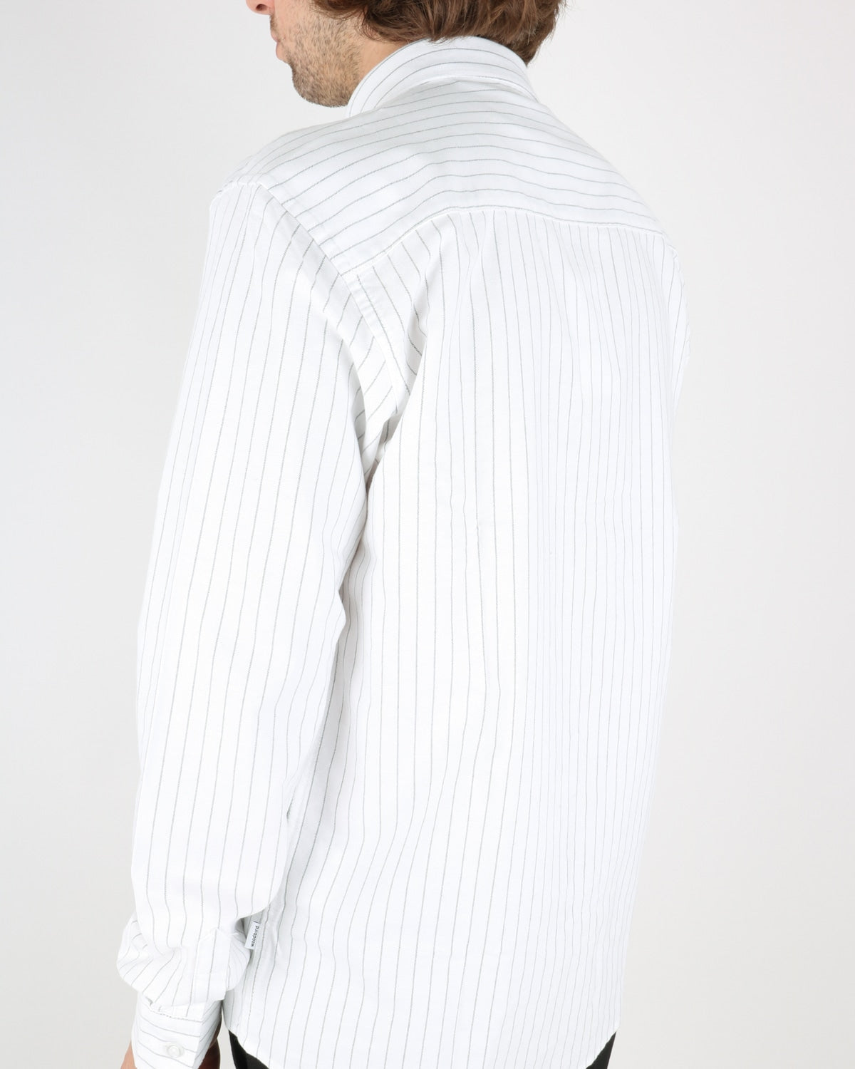 woodbird_trime stripe shirt_white grey_4_4