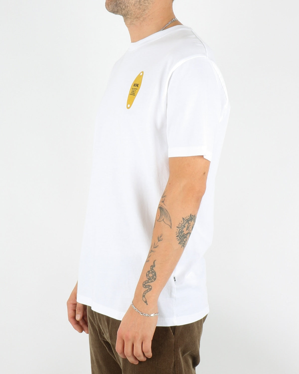 Tackle Shirt, bright white