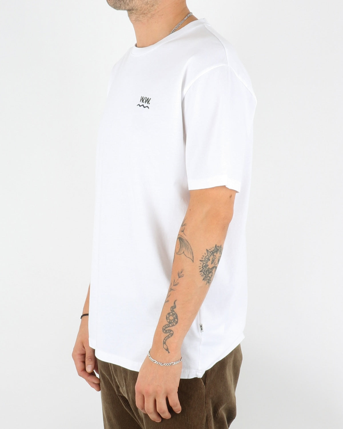 wood wood_wave t-shirt_bright white_2_4
