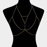 """ Armor "" Gold Body Chain"