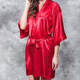 """ Satin Stage Robe """