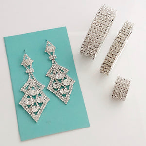 """ Baby BlingBox "" Clear Rhinestone Styled Set"