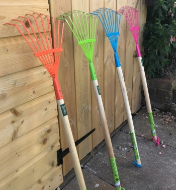 Children's lawn rakes