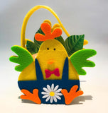 Gardening for Kids Chick Felt Bags