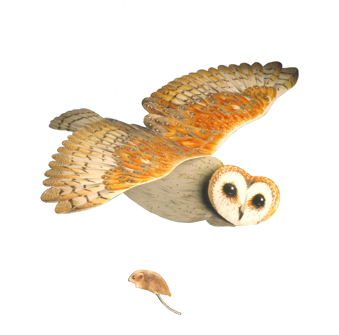 Barn Owl Mobile