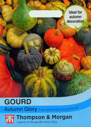 Thompson and Morgan Gourds Seeds - Mixed