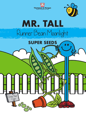Mr Tall Runner Bean Seeds
