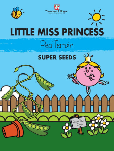 Thompson and Morgan Little Miss Princess Pea Seeds