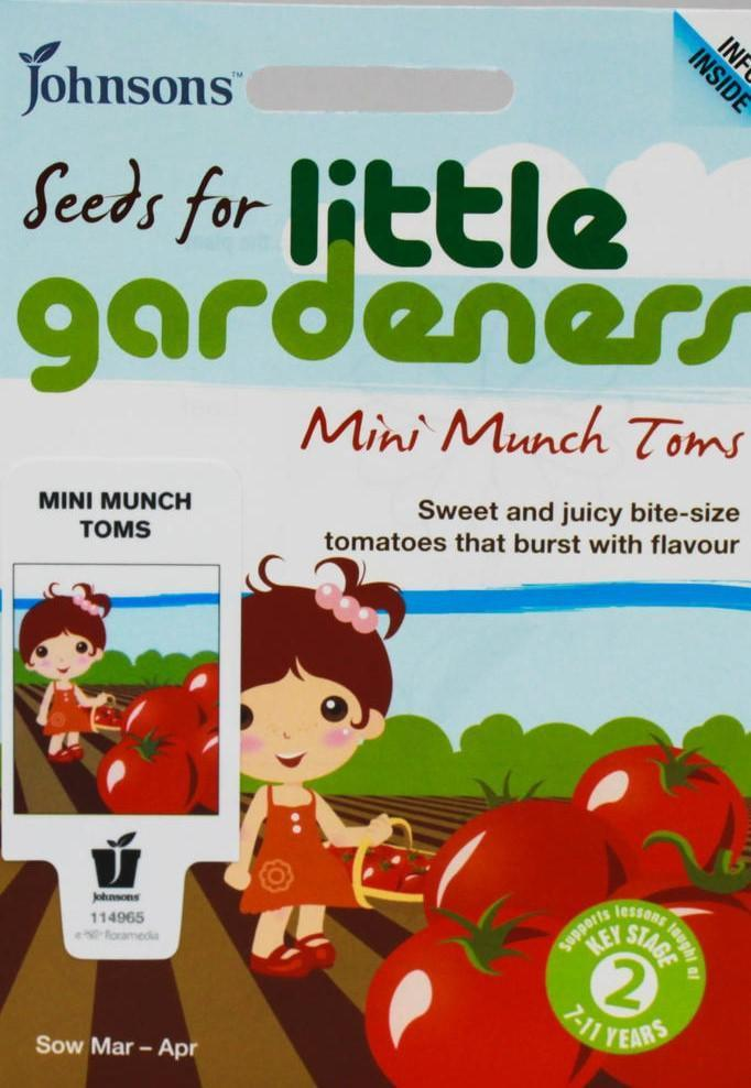 Mr Fothergill's Mini Munch Tomato Seeds