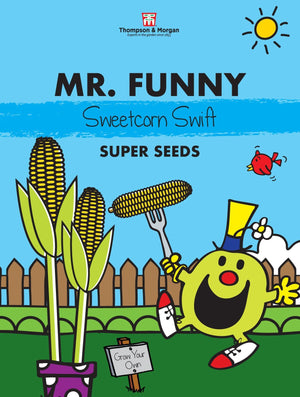 Thompson and Morgan Mr Funny Sweetcorn Seeds