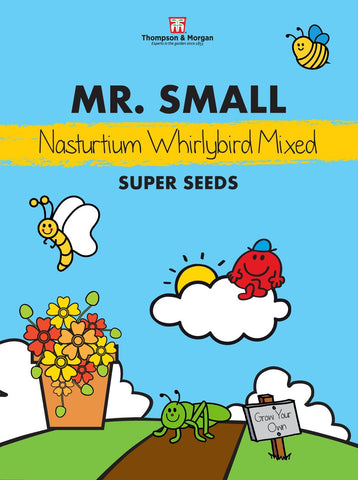 Thompson and Morgan Mr Small Nasturtuim Seeds