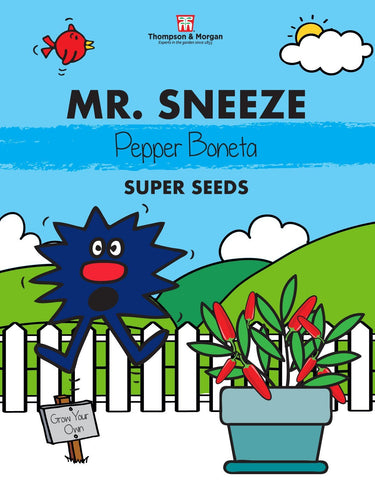 Thompson and Morgan Mr Sneeze Pepper Seeds