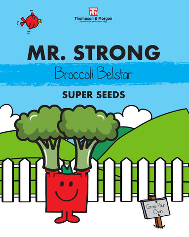 Thompson and Morgan Mr Strong Broccoli Seeds