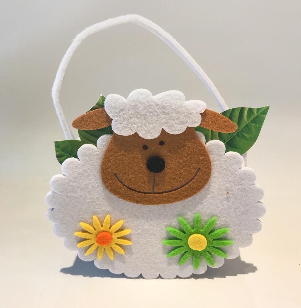Gardening for Kids Sheep Felt Bags