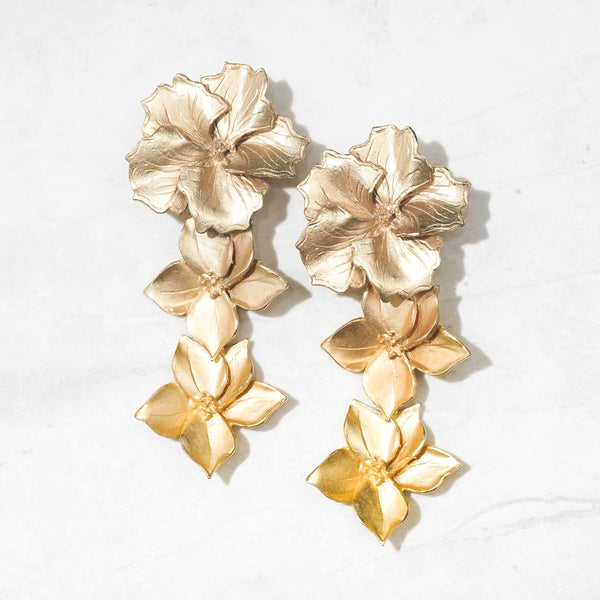 Gold-Dipped Flowers