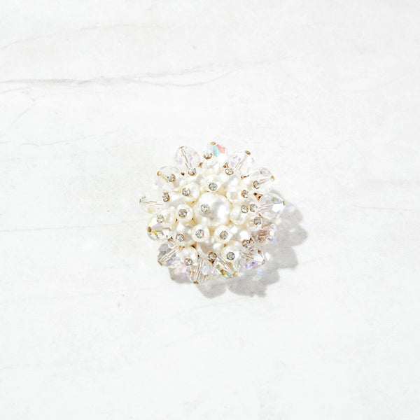 Pearl Bundle Brooch
