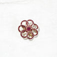 Flower Pinwheel Brooch