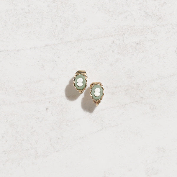 Tiniest Cameo Earrings