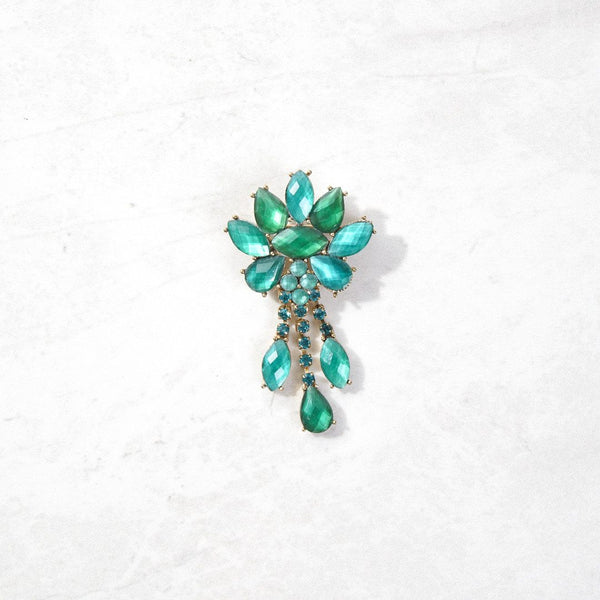 New Mermaid Vintage - 80's Liz Claiborne Brooches - Dripping with Envy