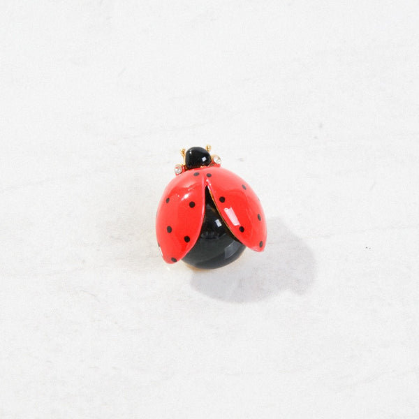 New Mermaid Vintage - 50's Unsigned Brooches - Ladybug