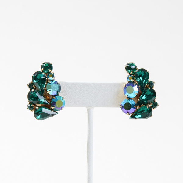 New Mermaid Vintage - 60's Unsigned Earrings - Bahari - 1