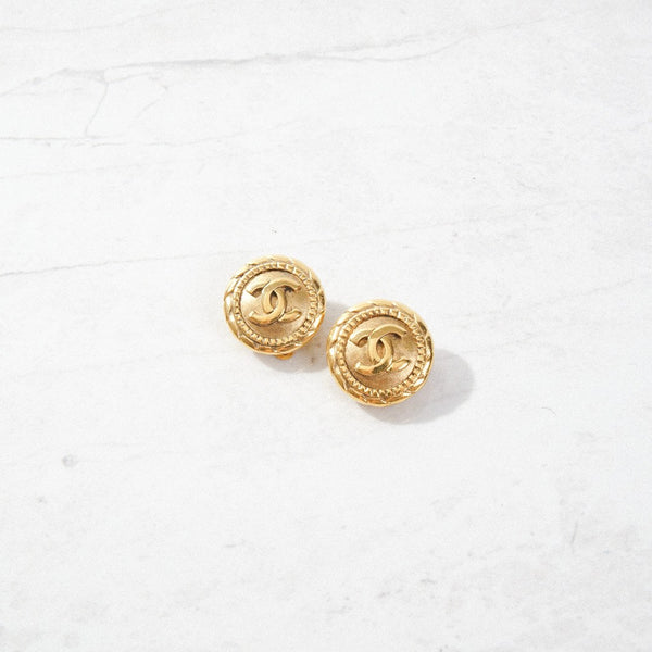 New Mermaid Vintage - 60's Chanel Earrings - Chanel Classic - 1