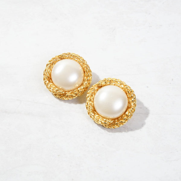 New Mermaid Vintage - 50's Chanel Earrings - Chanel Nest - 1