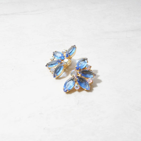 New Mermaid Vintage - 50's Juliana D&E Earrings - Cinderella - 1