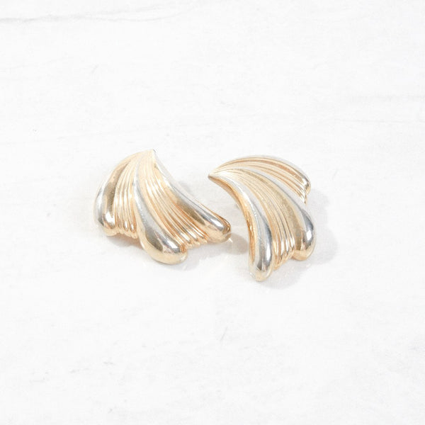 New Mermaid Vintage - 60's Givenchy Earrings - Givenchy Wave - 1