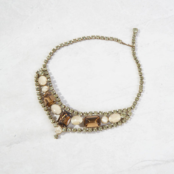 New Mermaid Vintage - 50's Unsigned Necklaces - Butterscotch - 1