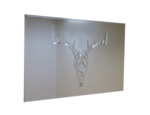 Load image into Gallery viewer, Stags Head Liquid Glass Art Mirror