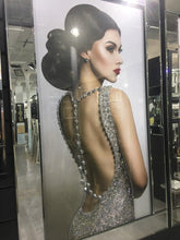 Load image into Gallery viewer, Elegant Lady in Backless Sparkling Dress