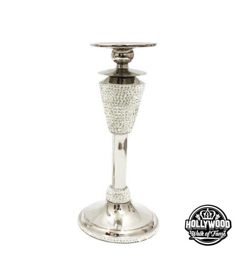 The Hollywood Walk of Fame Crystal Diamante Candle Holder