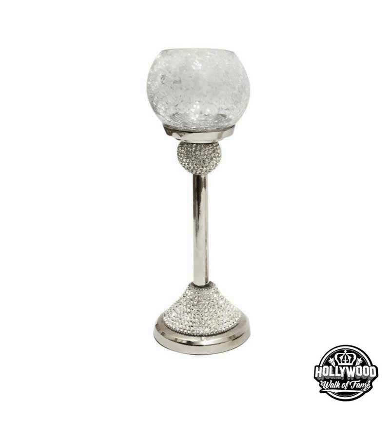 The Hollywood Walk of Fame Diamante Crystal Tea Light Holder