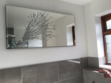 Load image into Gallery viewer, Silver Champagne Celebration Liquid Glass Wall Art On A Mirror
