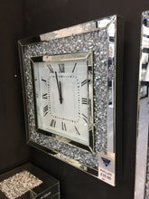 Load image into Gallery viewer, GatsbyX Crystal Square Clock