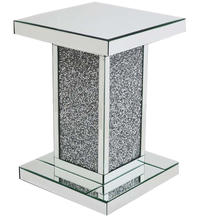Gatsby Mirrored Crystal Side Stand