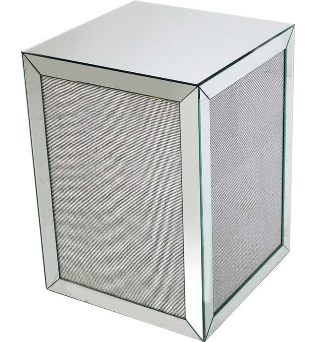 Glamour Lamp Table Silver