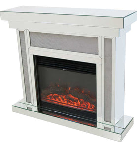 Glamour Fireplace & Electric Fire with Remote Control