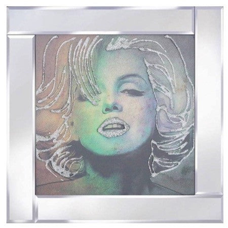 Marilyn Monroe Liquid Glass Wall Art Picture Mirror Frame