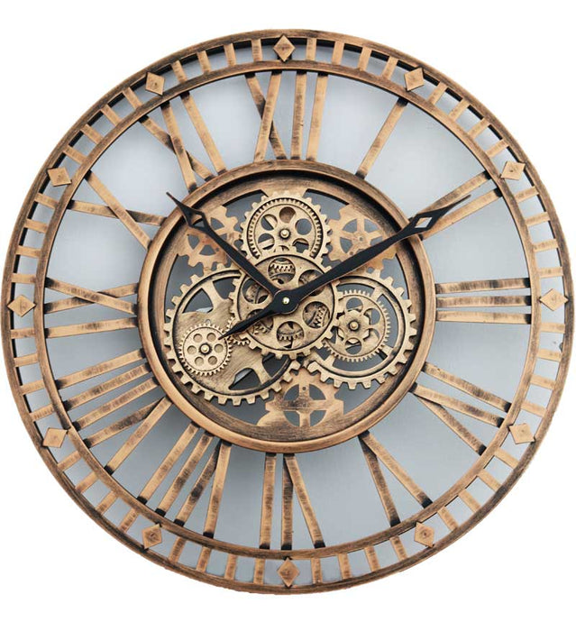 Roman Numeral Round Wall Clock