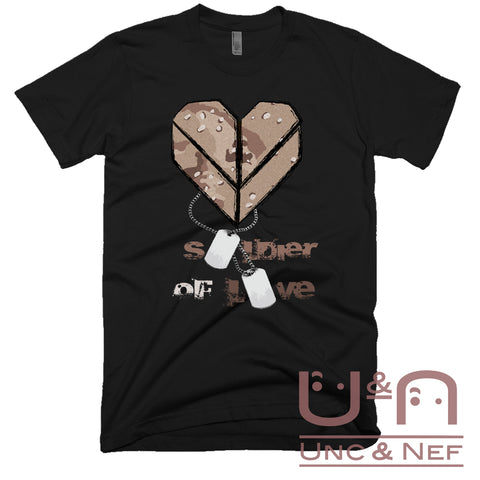 Unc & Nef - Soldier of Love II - Premium - Men's T-shirt