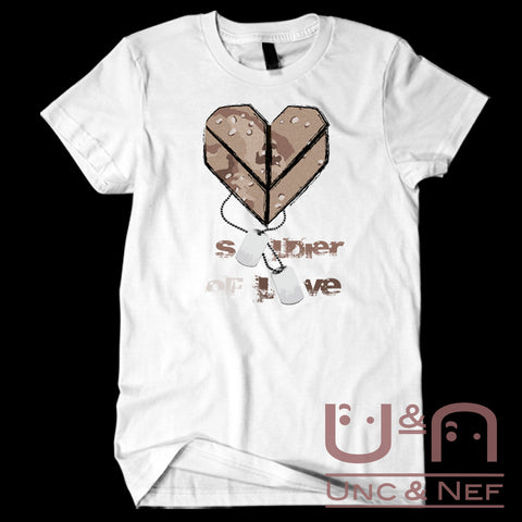 Unc & Nef - Soldier of Love II - Premium - Women's T-Shirt