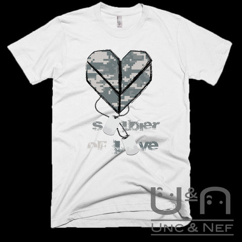 Unc & Nef - Soldier of Love IV - Premium - Men's T-shirt