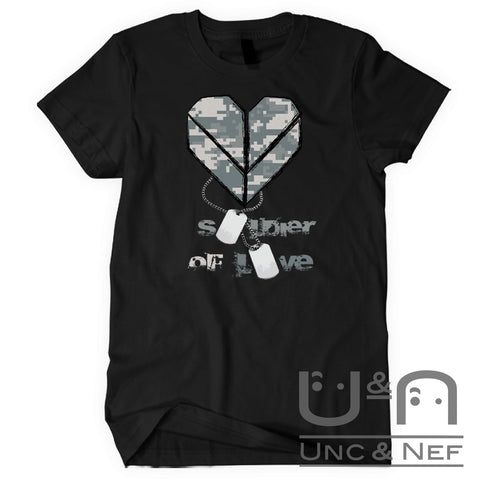 Unc & Nef - Soldier of Love IV - Premium - Women's T-Shirt