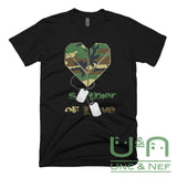 Unc & Nef - Soldier of Love I - Premium - Men's T-shirt