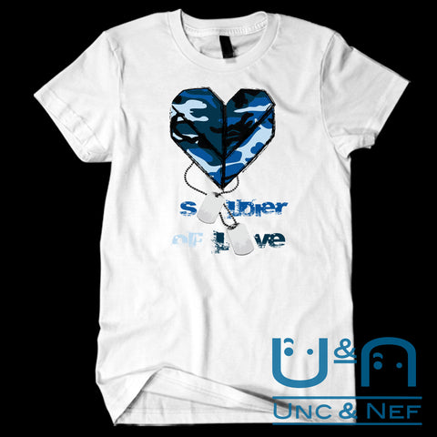 Unc & Nef - Soldier of Love V - Premium - Women's T-Shirt